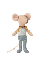 Maileg Little Brother Mouse in Box - Bow Tie
