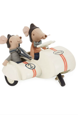 Maileg Sidecar Scooter with Racer Mice