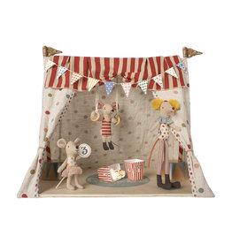 Maileg Circus High Top with 3 Mice
