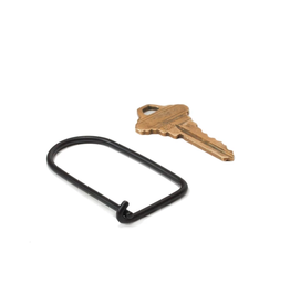 Craighill Wilson Keyring - Carbon Black