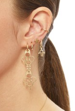 Scosha Gold Trio Diamond Ear Cuff