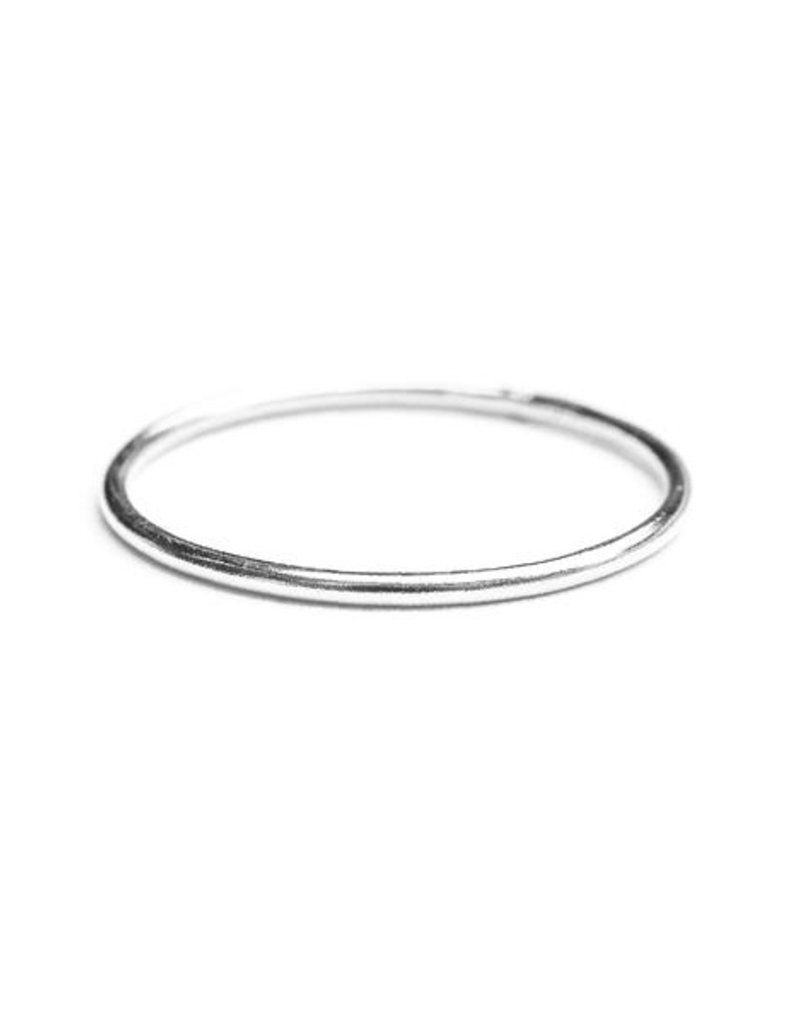 Hart + Stone Smooth Stacking Ring - Sterling Silver