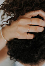 Hart + Stone Smooth Stacking Ring - Sterling Silver -