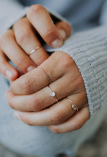 Hart + Stone Twisted Stacking Ring - Sterling Silver