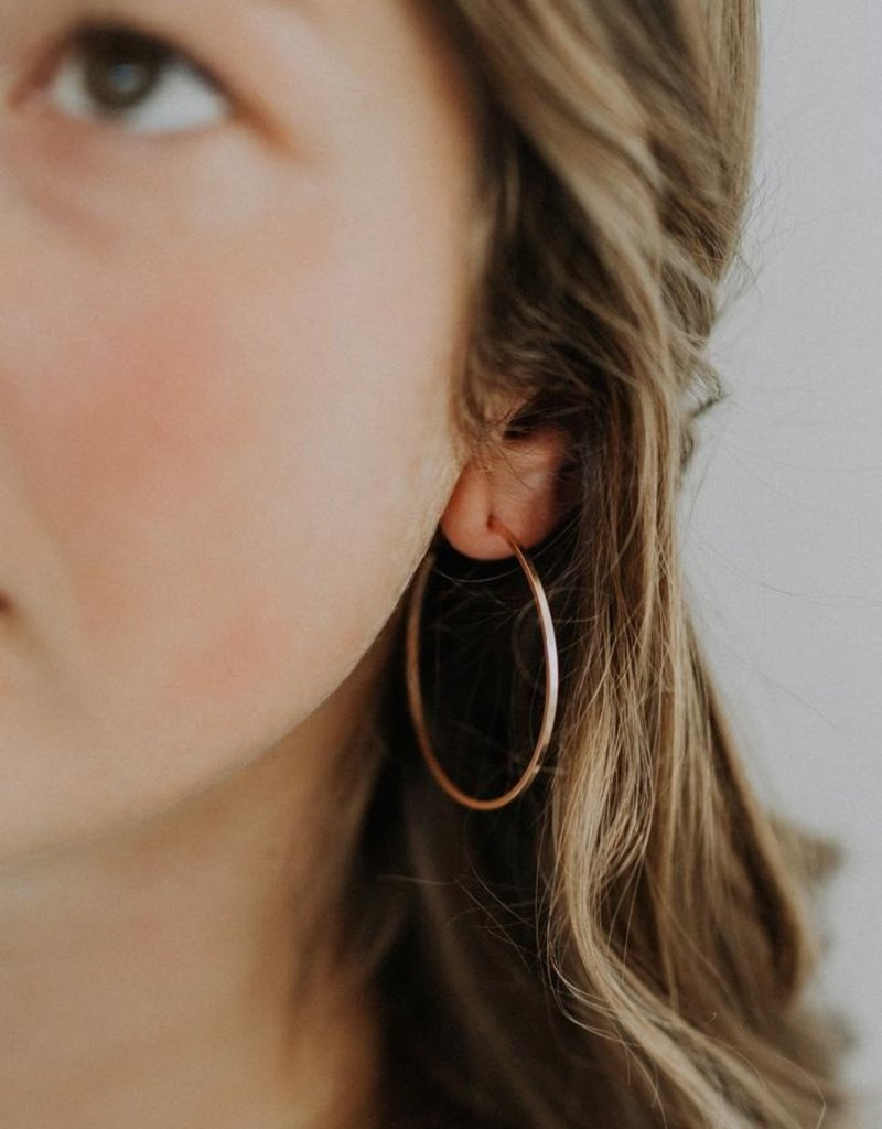 Hart + Stone Finn Hoops - Sterling Silver - Extra Large