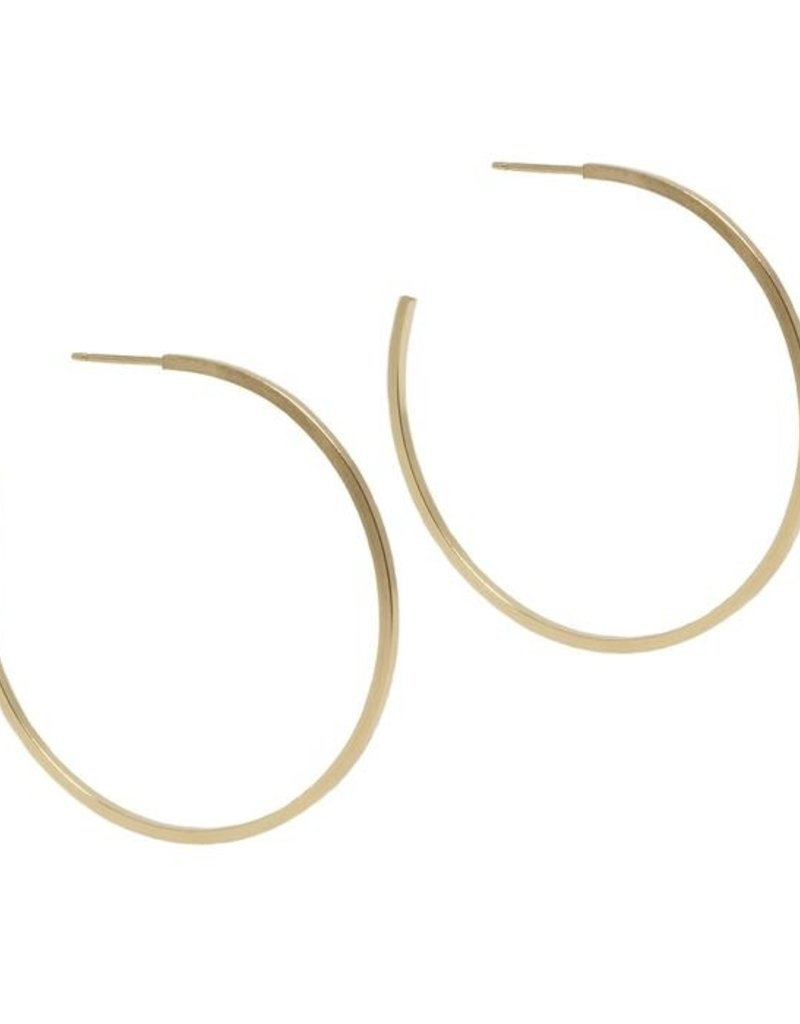 Hart + Stone Finn Hoops - Gold Fill - Extra Large
