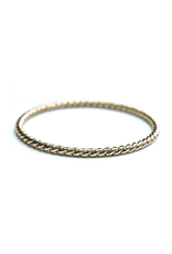 Hart + Stone Twisted Stacking Ring - Gold Fill -
