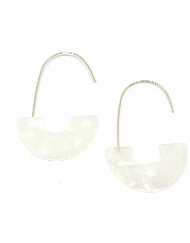 Vayu Jewels Zeta Earrings - Blanca