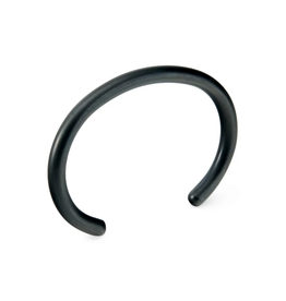 Craighill Uniform Round Cuff - Carbon Black