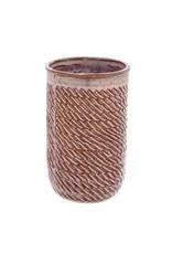 Indaba Pink Sombrio Vase - Medium