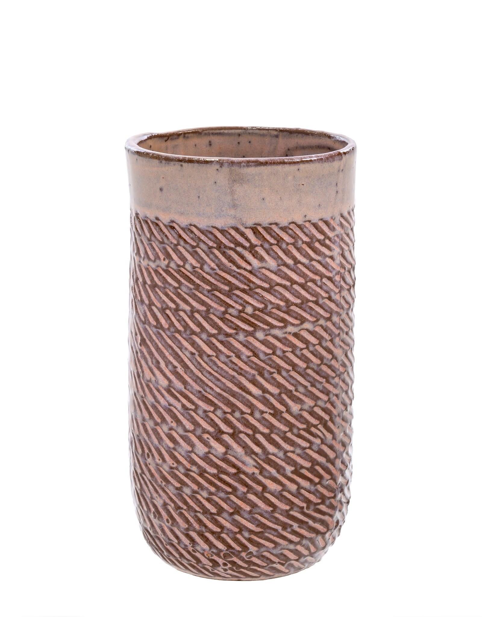 Indaba Pink Sombrio Vase - Large