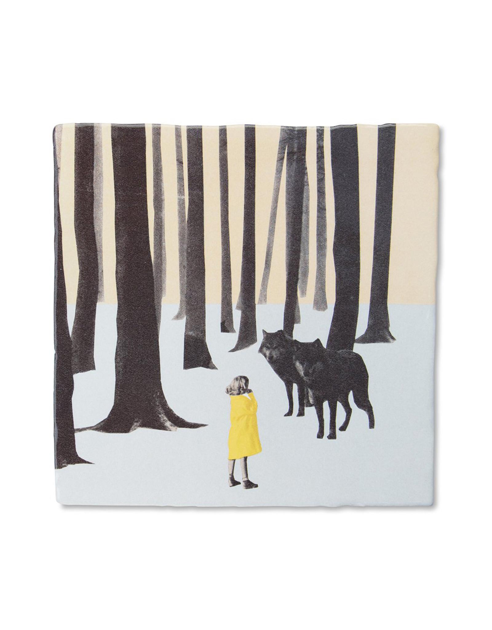 """StoryTiles """"wolf girl"""" Tile"""