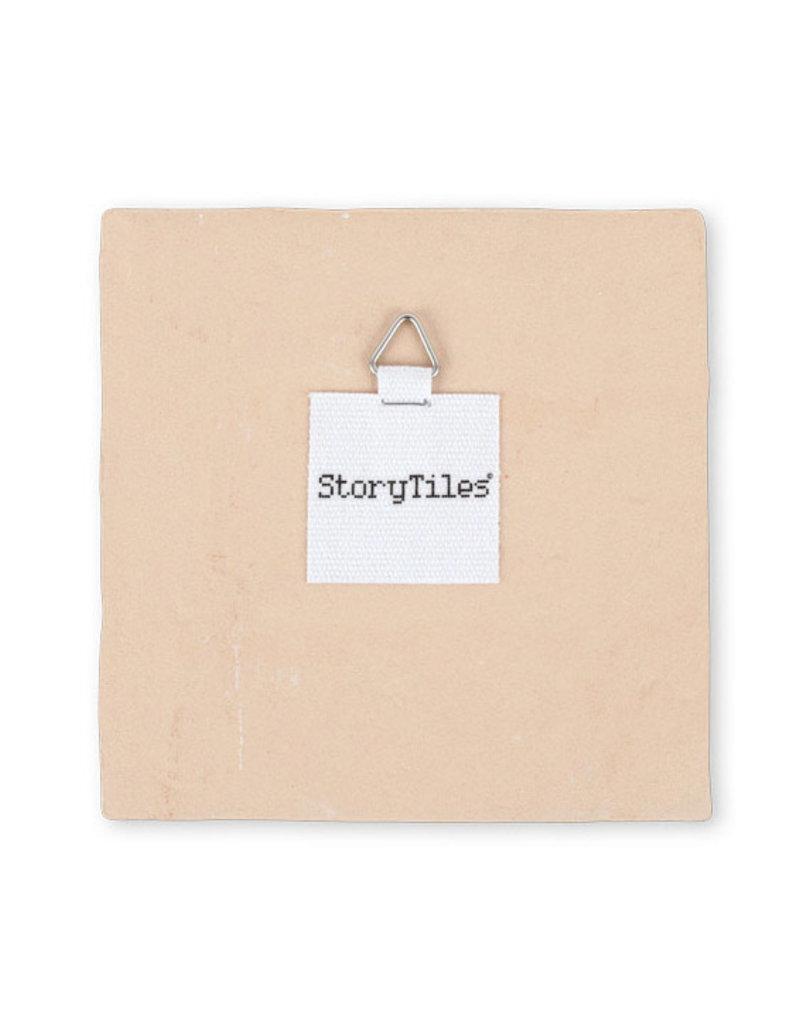 "StoryTiles ""it's a baby boy"" Tile"