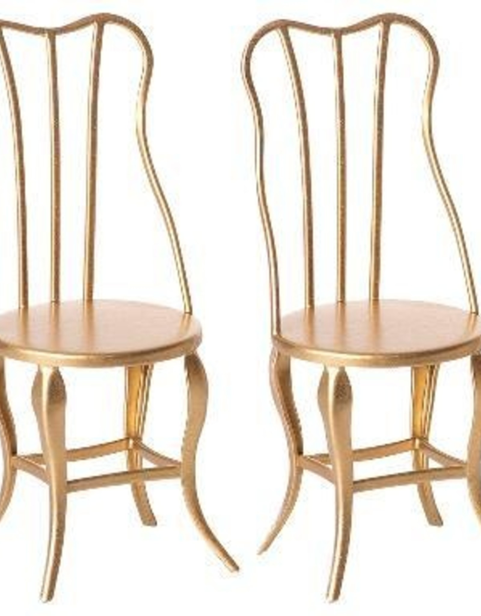 Maileg Vintage Chairs Micro - Gold