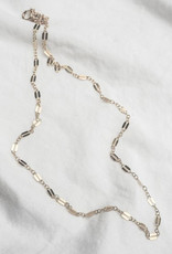 Hart + Stone Silver Helix Necklace -