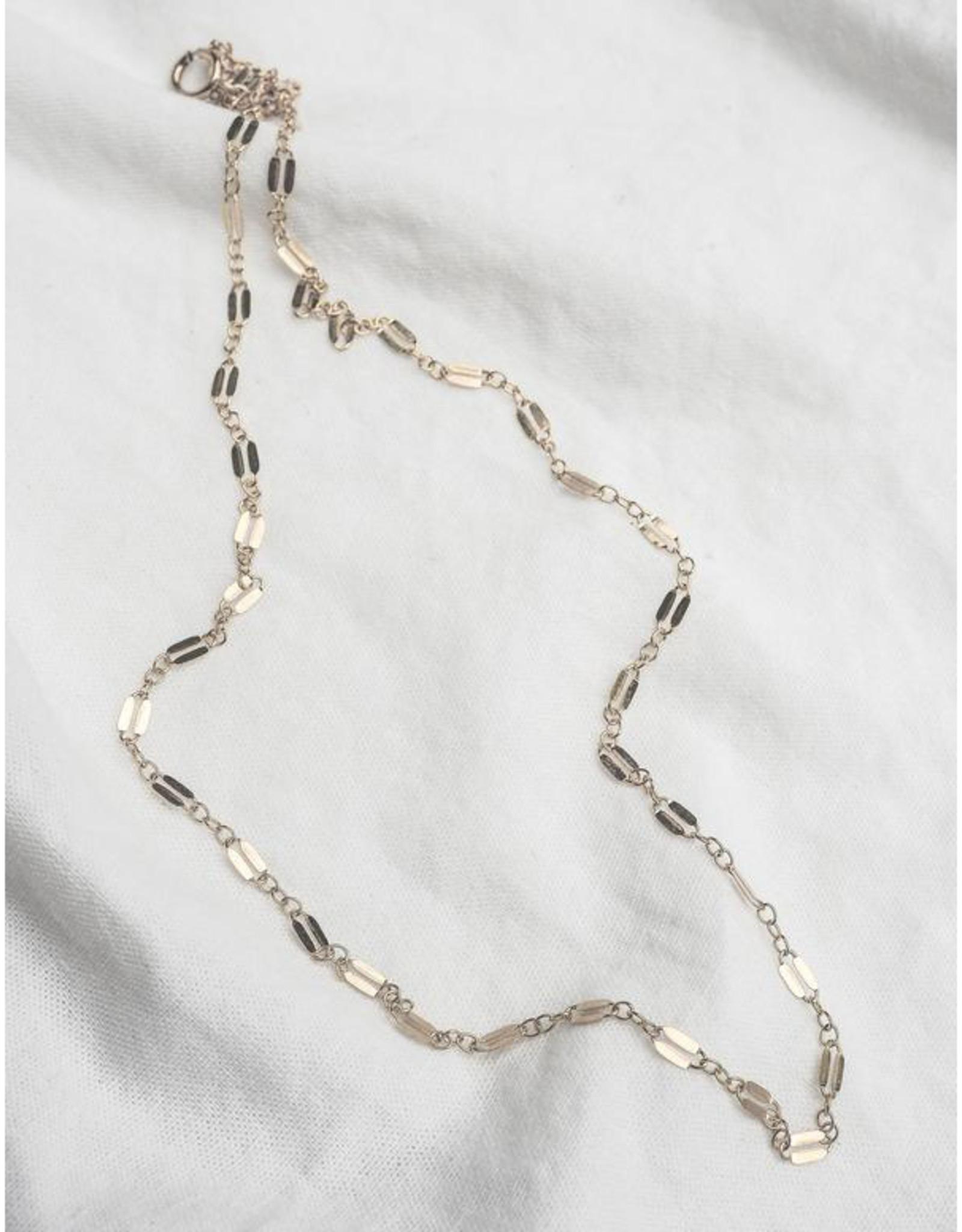 Hart + Stone Helix Necklace - Argentium Silver