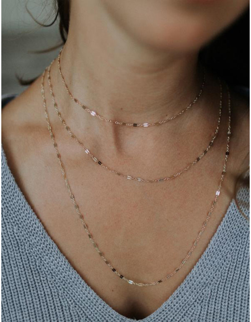 Hart + Stone Helix Necklace - Gold Filled