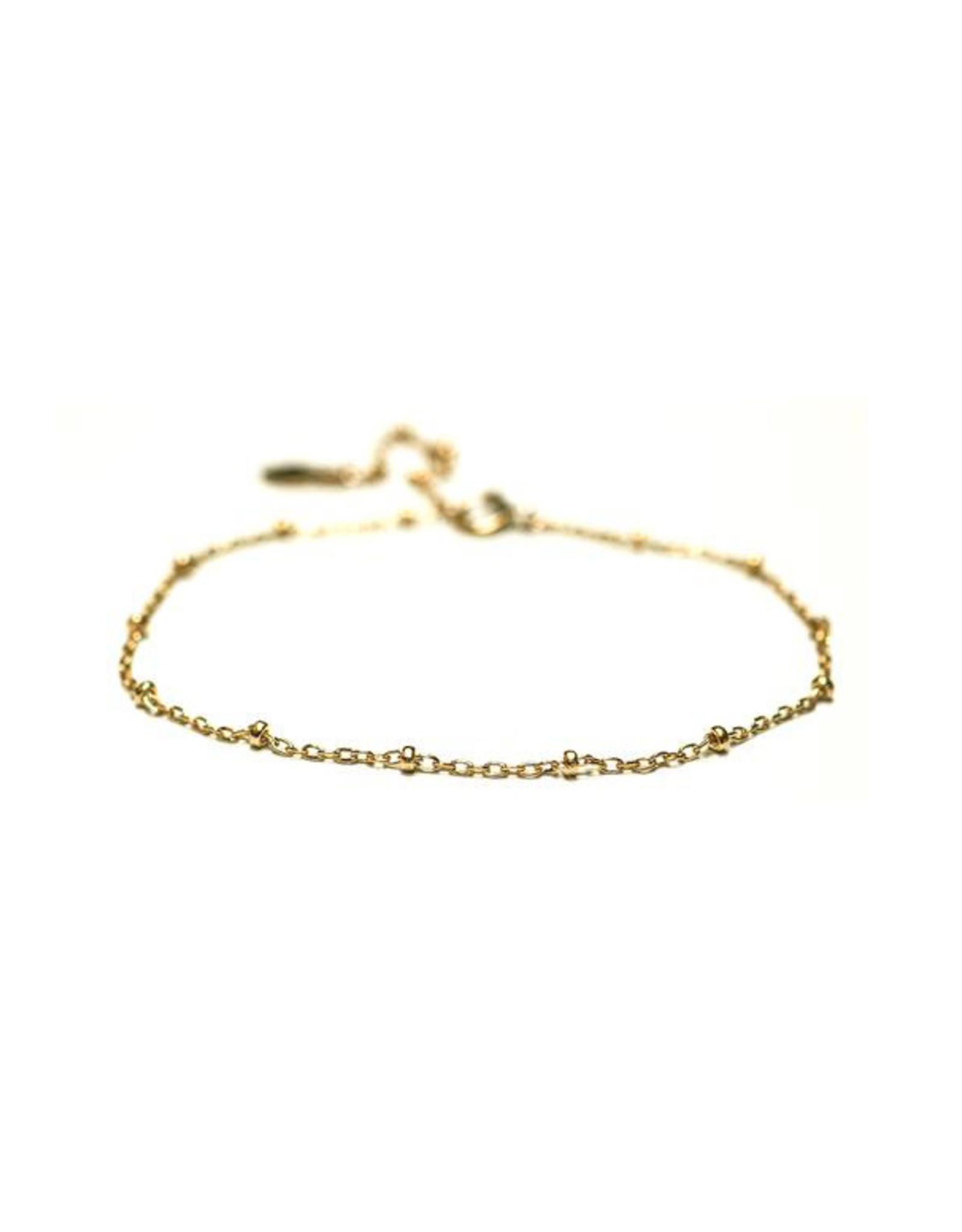 Hart + Stone Dotted Bracelet - Gold Fill