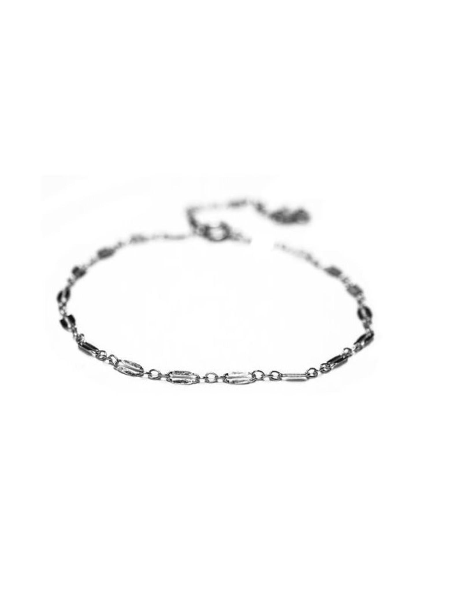 Hart + Stone Helix Bracelet - Argentium Silver