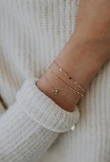 Hart + Stone Helix Bracelet - Gold Fill