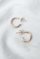 Hart + Stone Lark Hoops - Small - Gold Fill