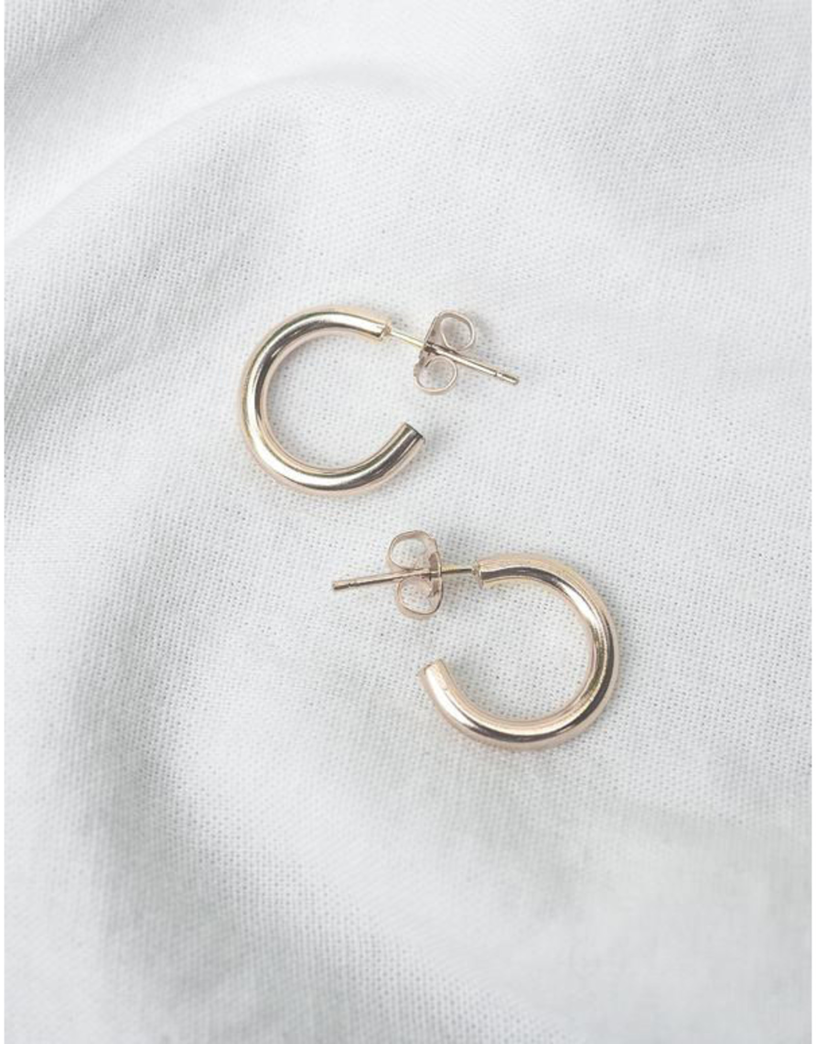 Hart + Stone Lark Hoops - Small - Sterling Silver