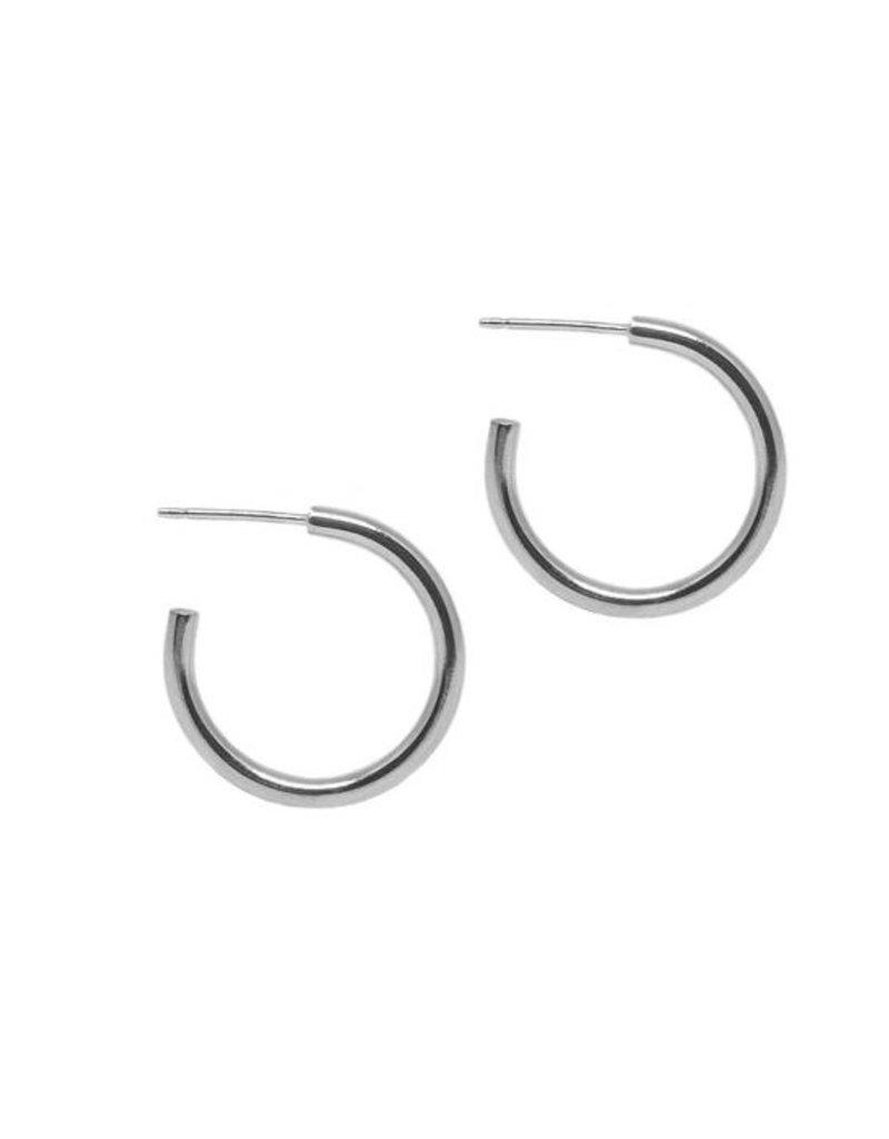 Hart + Stone Lark Hoops - Medium - Sterling Silver