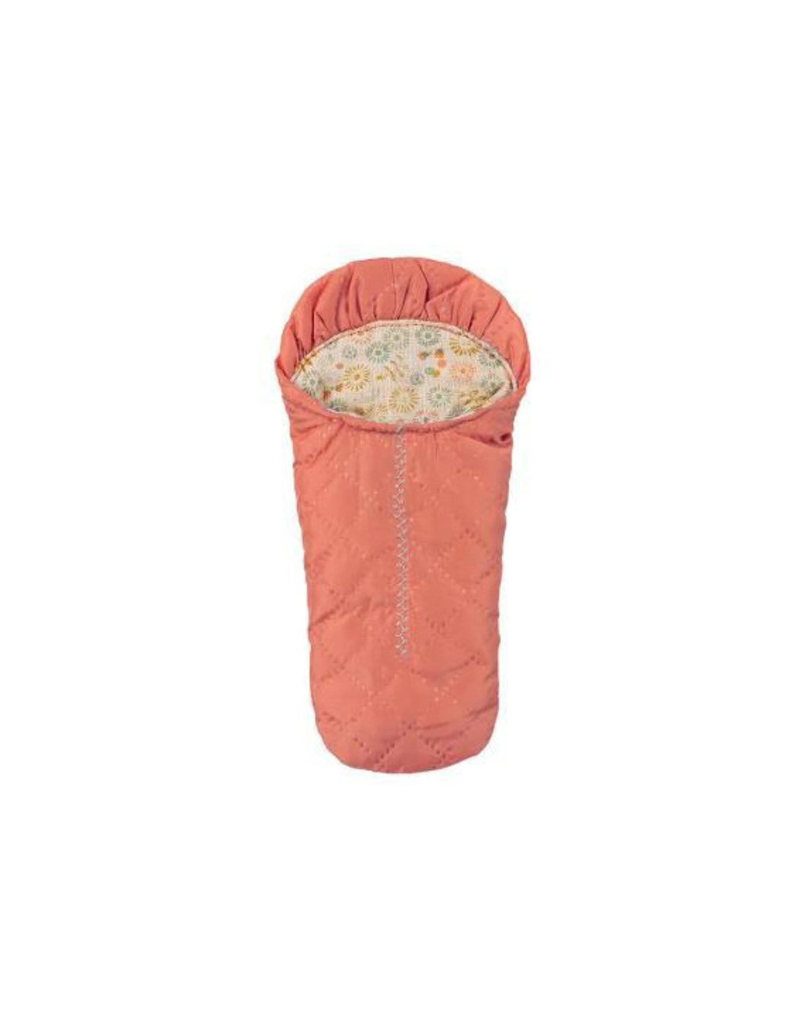 Maileg Mouse Sleeping Bag - Peach
