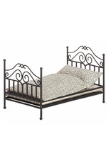 Maileg Vintage Micro Bed - Anthracite