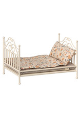 Maileg Vintage Micro Bed - Soft Sand