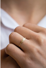 Celine Daoust Sun Eye Small Ring - Diamond