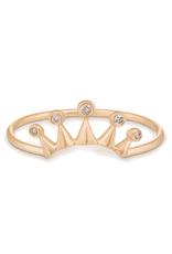 Celine Daoust Five Diamond Crown Ring