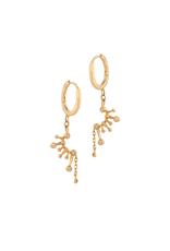 Celine Daoust Constellation Huggie Hoop Earrings - Diamond