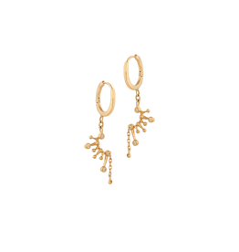 Celine Daoust Constellation Huggie Hoop Earrings - Diamond