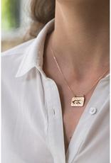 Celine Daoust Dangling Bird Necklace - Diamond