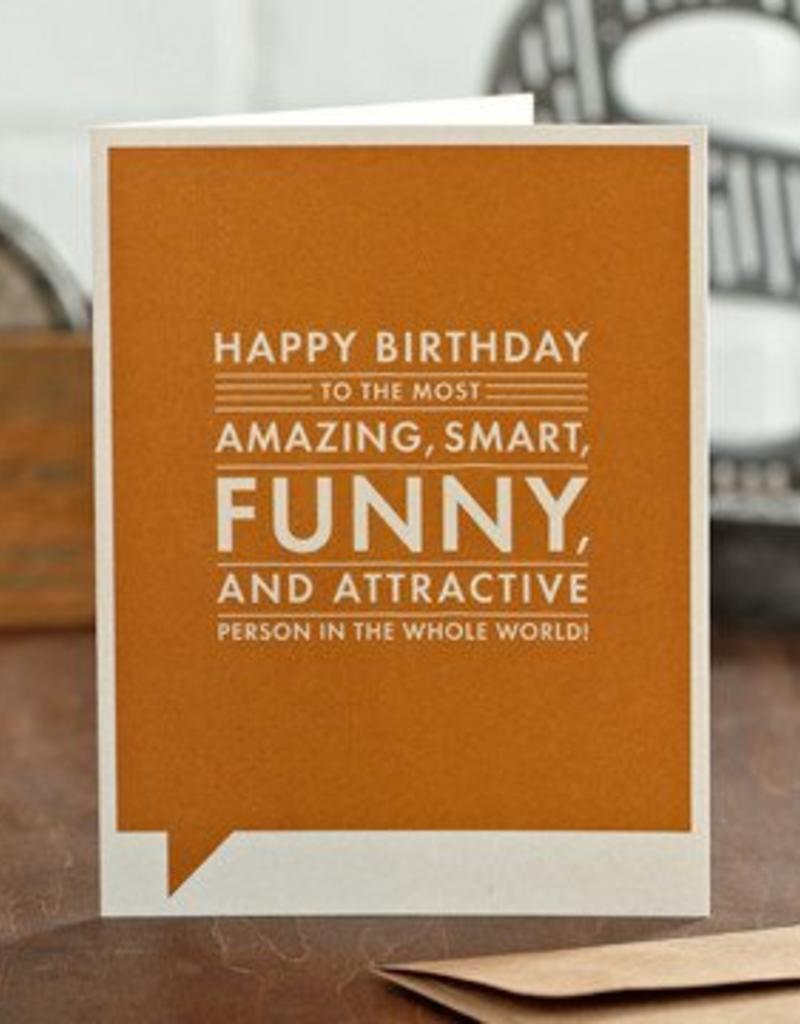 "Frank & Funny ""Happy birthday to the most amazing..."" (Happy Birthday)"