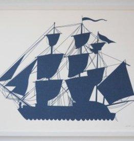 Banquet Atelier & Workshop Tall Ship Art Print
