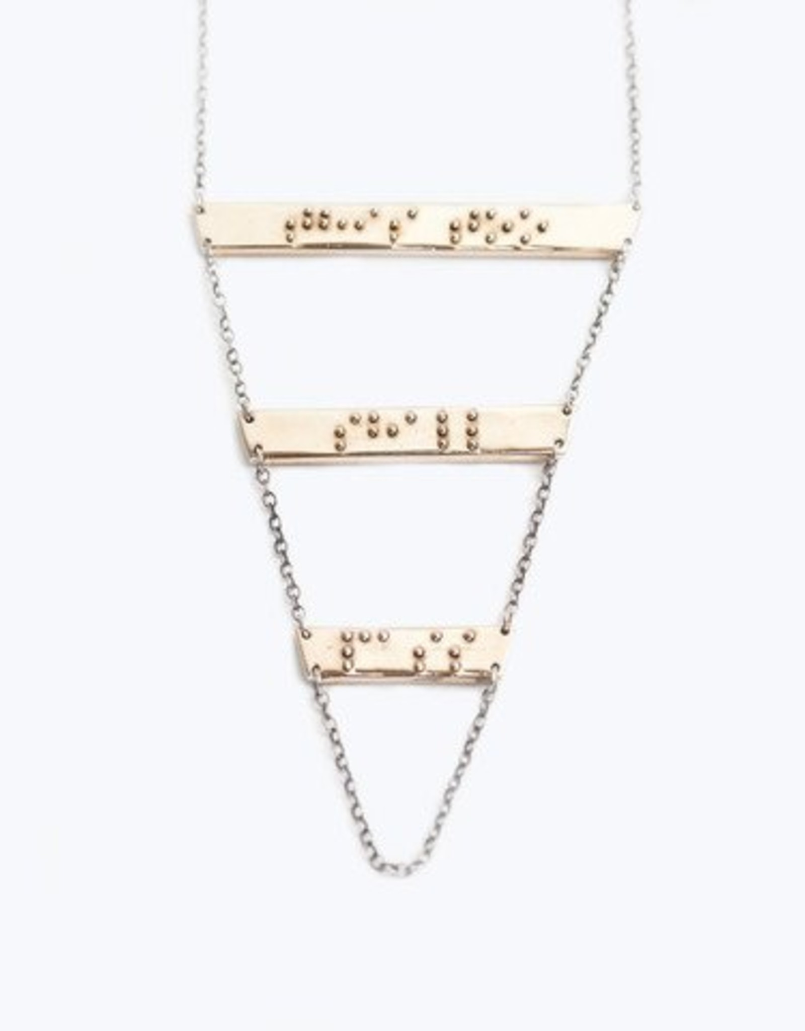 "Covet + Keep Jewelry Jodie ""This Too Shall Pass"" Necklace"