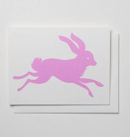 Banquet Atelier & Workshop Pink Rabbit - Note Card