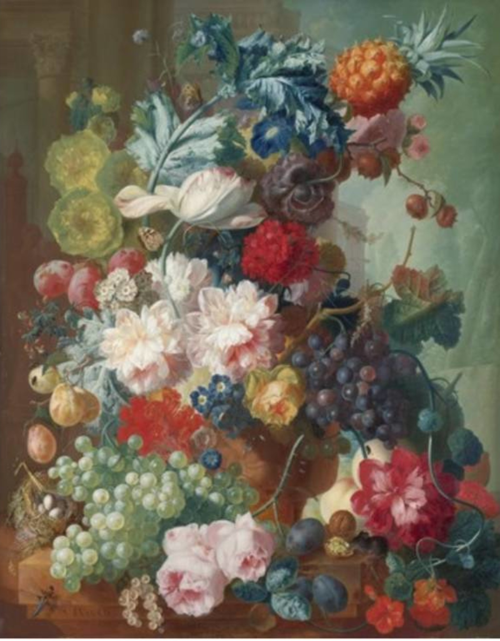 IXXI Still Life of Fruit and Flowers - 120cm x 180cm