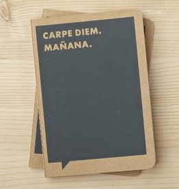 "Frank & Funny ""Carpe Diem. Manana."" - Notebook"