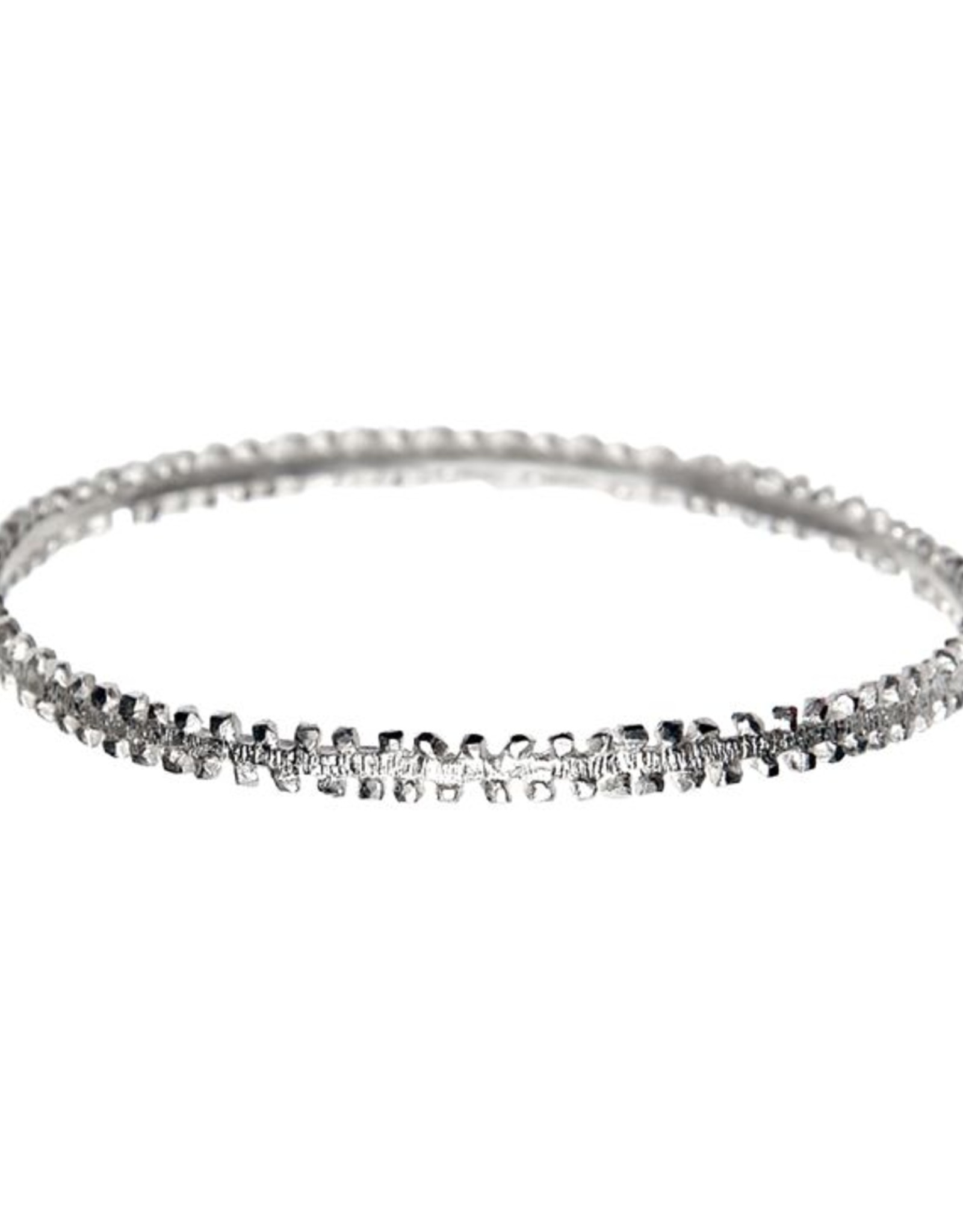 Himatsingka Victoria Silver Bangle