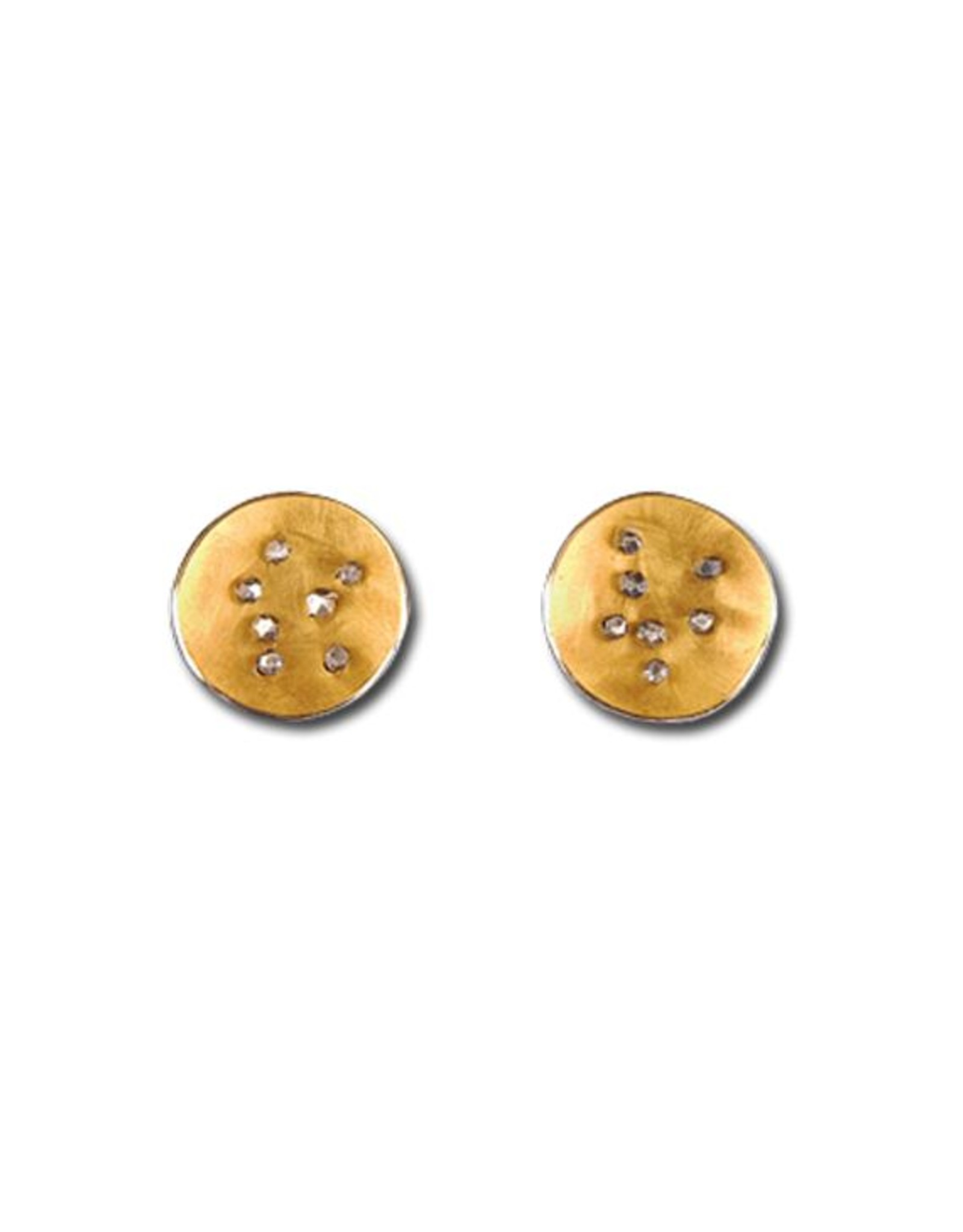 Himatsingka Spangles Gold Earrings