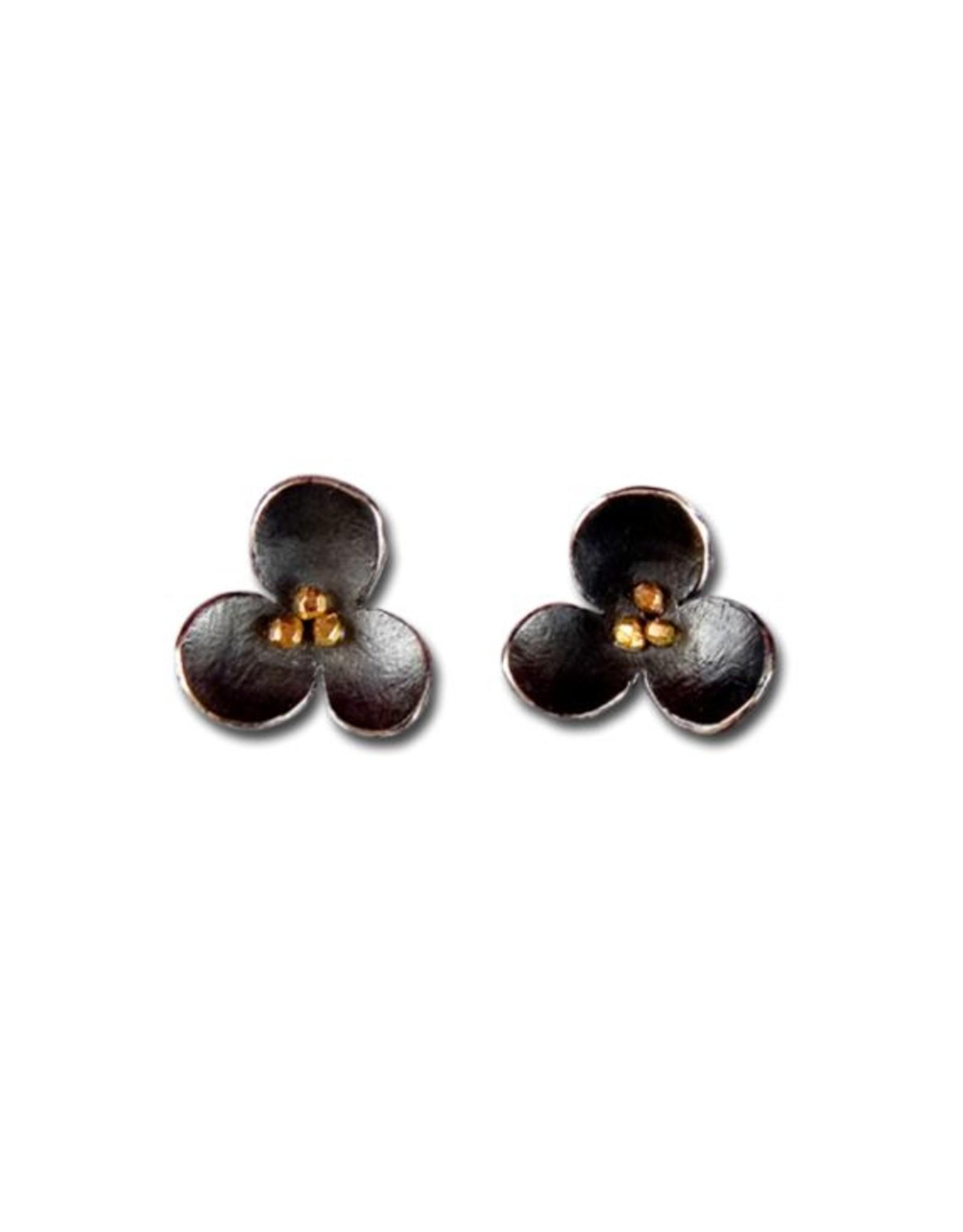 Himatsingka Spangles Trefoil Earrings
