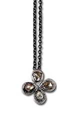Himatsingka Rosa 4-Petal Pendant Necklace
