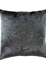 Indaba Velvet Pillow - Steel