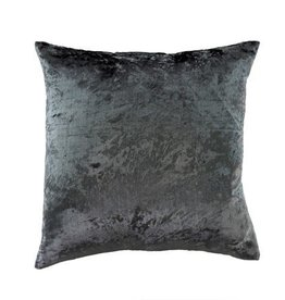 Velvet Pillow - Steel