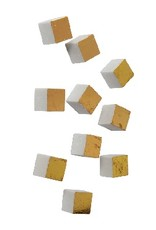 Gold Leaf Design Group Wall Play Cube - Gold