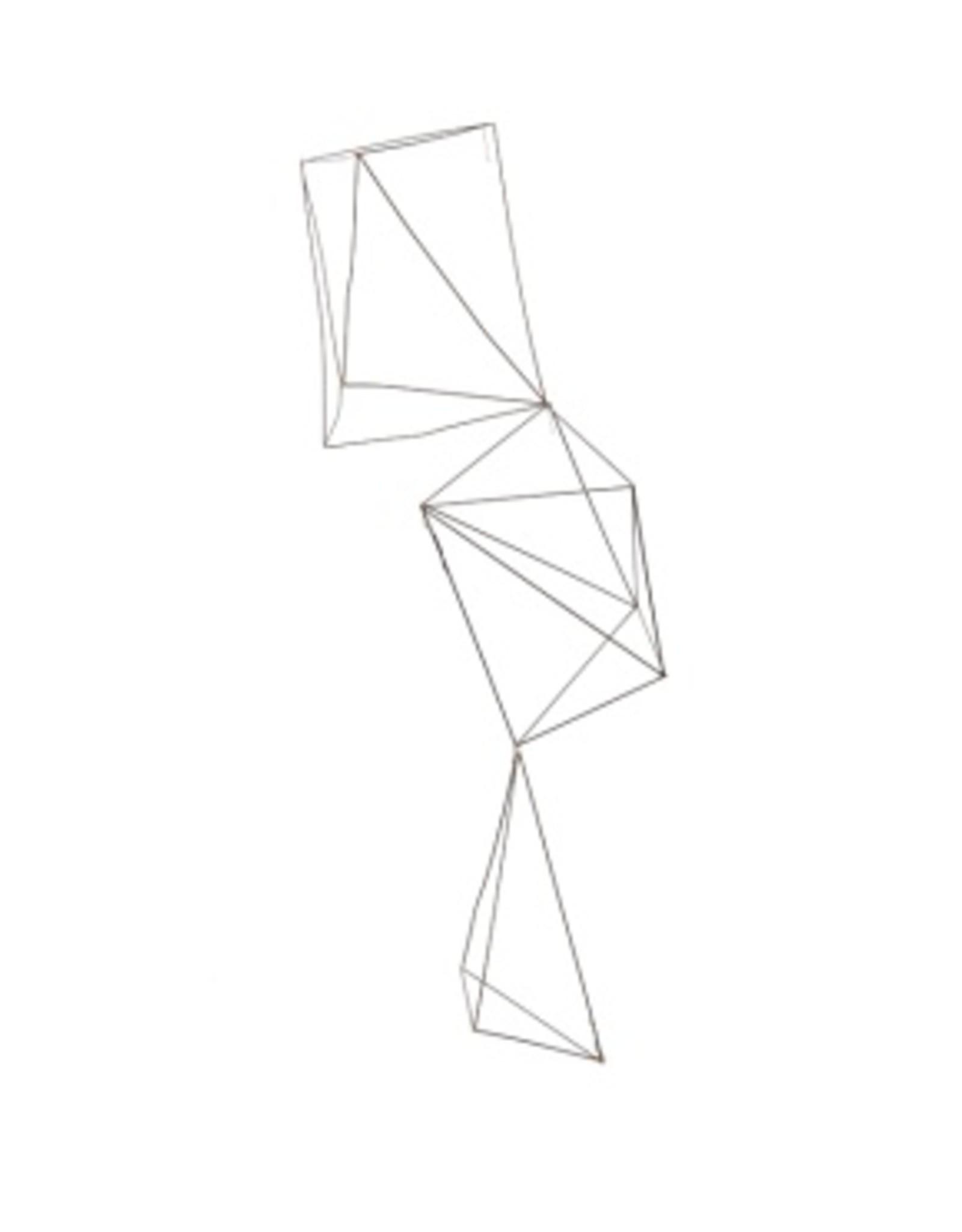 Gold Leaf Design Group Wire Crystals - Set of 3