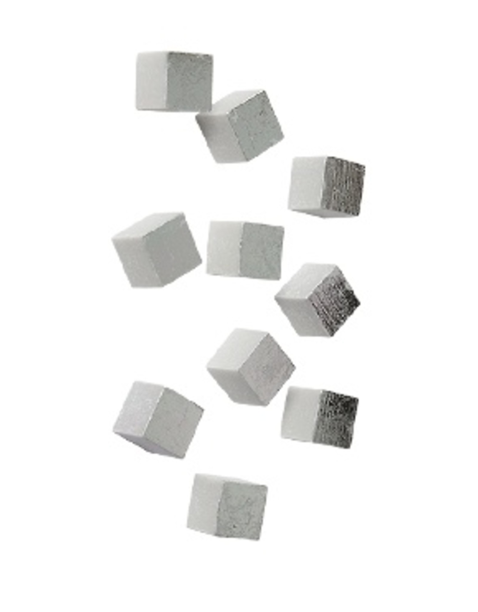 Gold Leaf Design Group Wall Play Cube - Silver